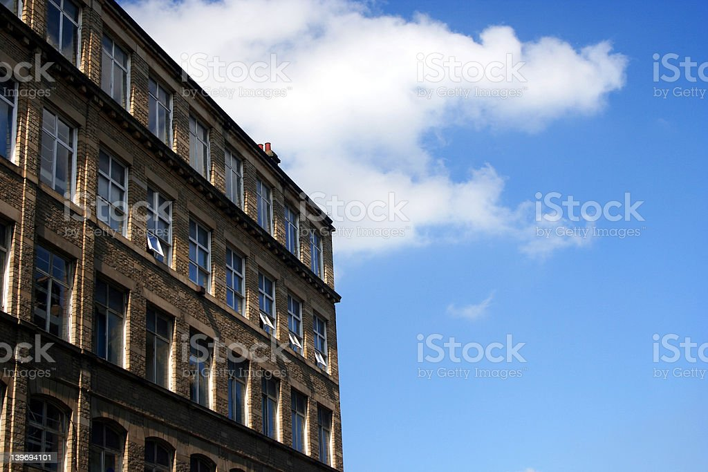 Mill Town royalty-free stock photo