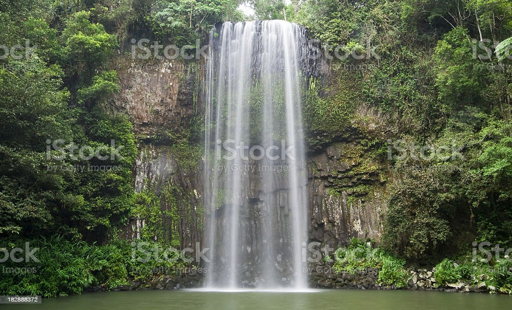 Millaa-Millaa Falls royalty-free stock photo