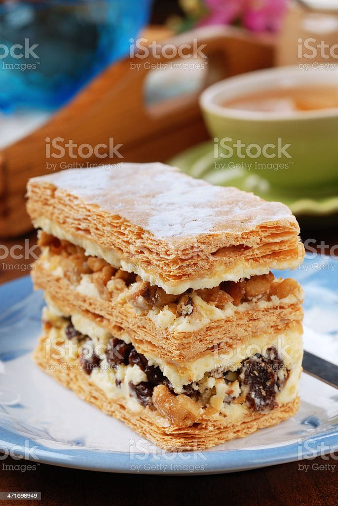 mille feuille royalty-free stock photo