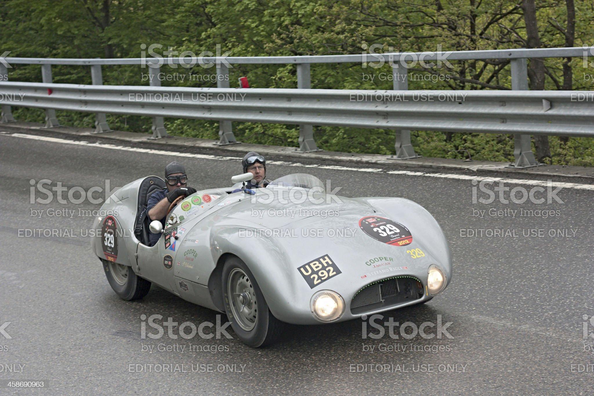 Mille Miglia 2012 royalty-free stock photo