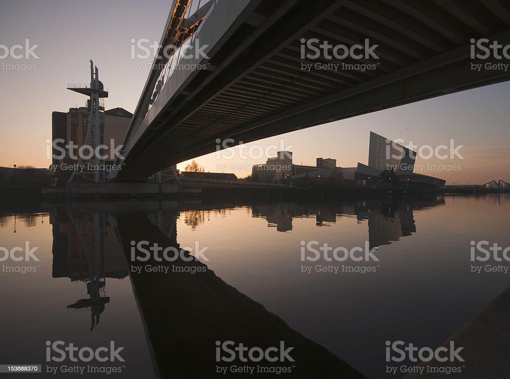 Millenium Salford Quays stock photo