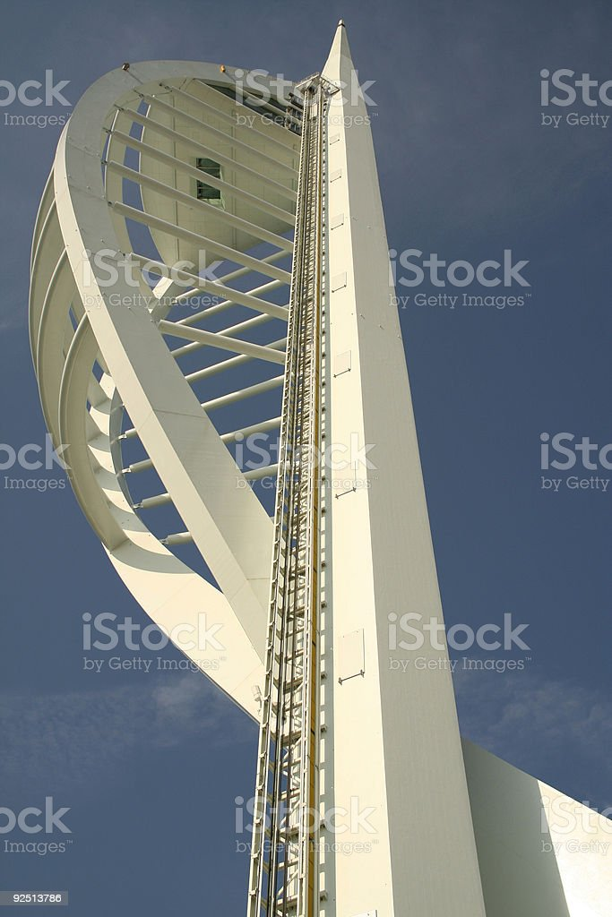 millenium spinnaker tower portsmouth stock photo