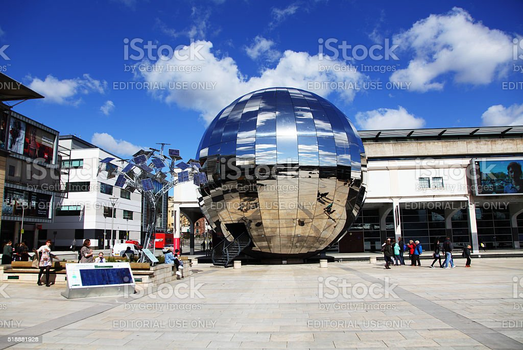 Millenium square,Bristol,England stock photo