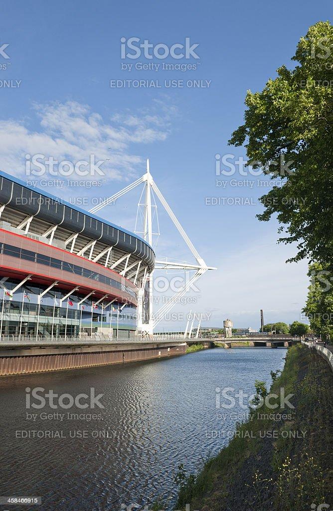 Millenium Stadium Cardiff Wales stock photo