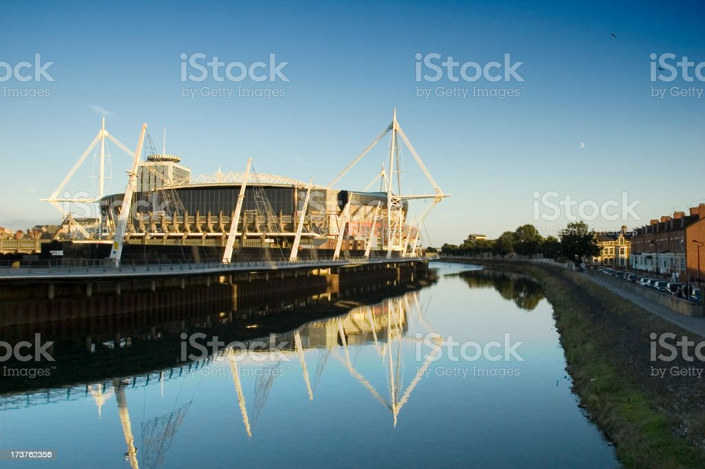 millenium stadium royalty-free stock photo