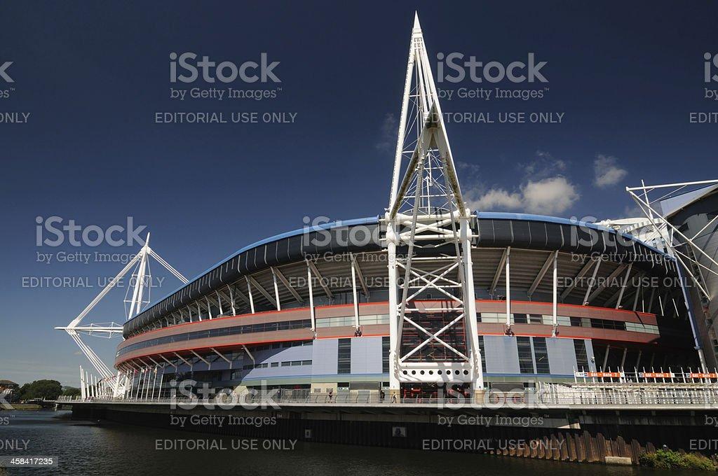 Millenium Stadium, Wales stock photo