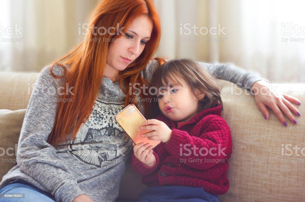 Millennial Parents stock photo
