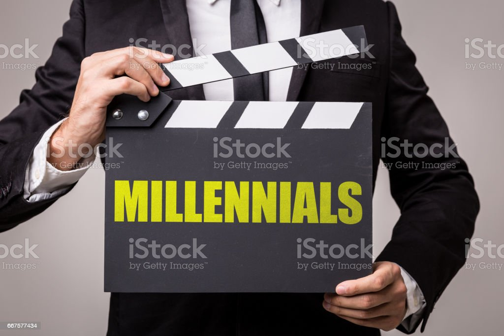 Millennials stock photo