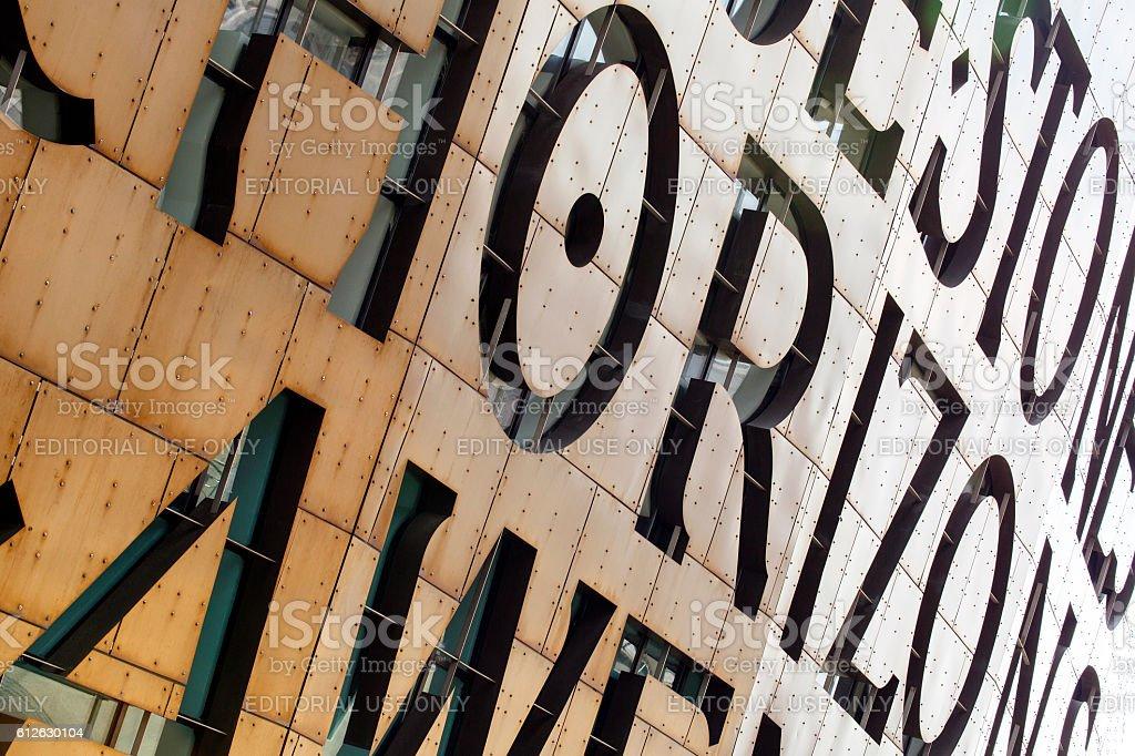Millennium Centre - Cardiff stock photo