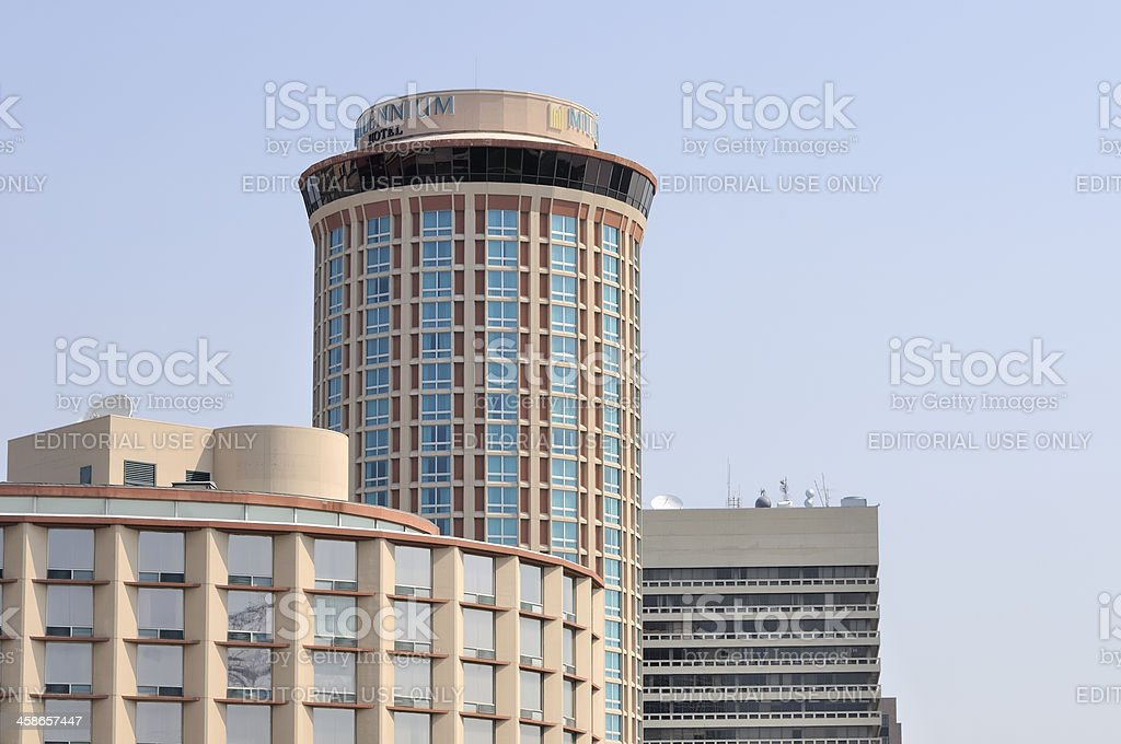 Millennium Hotel St. Louis stock photo