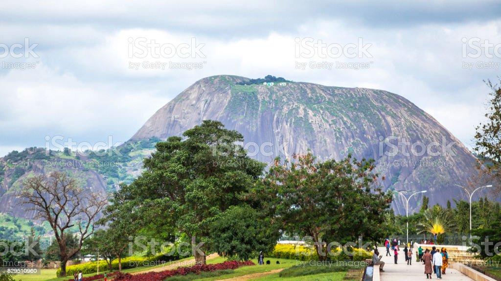 Millennium Park - Abuja, Nigeria stock photo