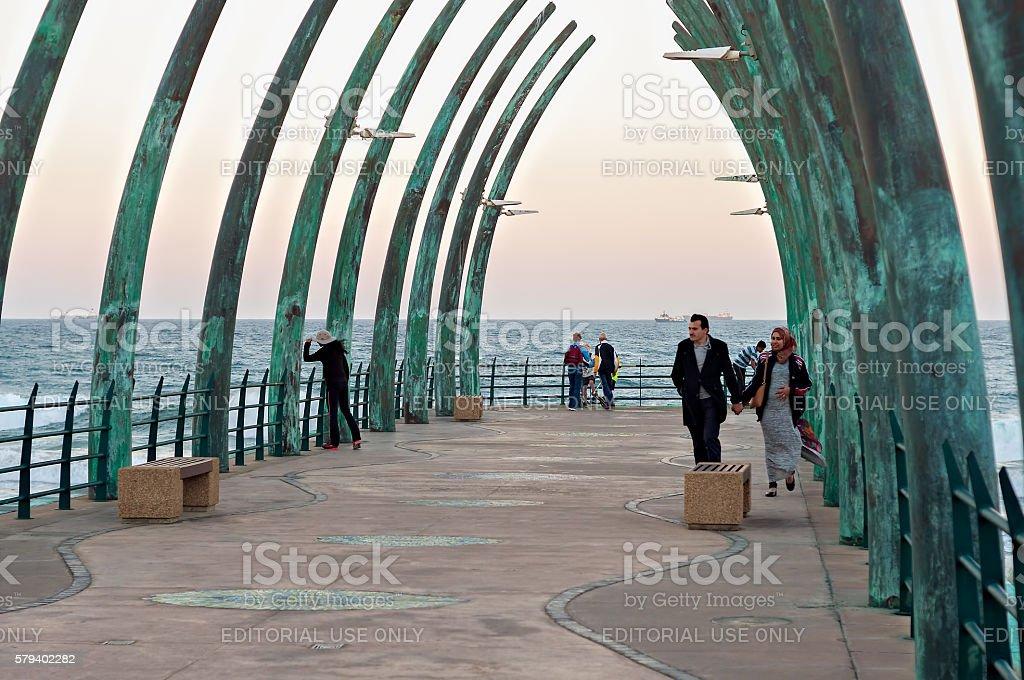 Millennium Pier stock photo