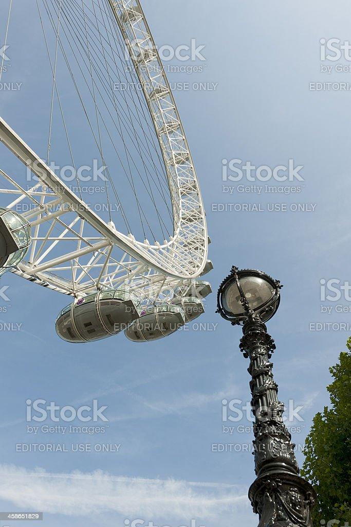 Millennium Wheel London UK XXXL image royalty-free stock photo