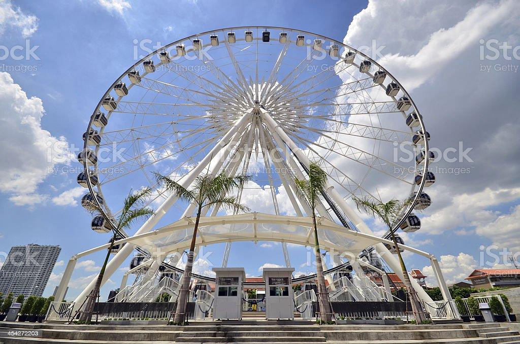 Millennium Wheel royalty-free stock photo