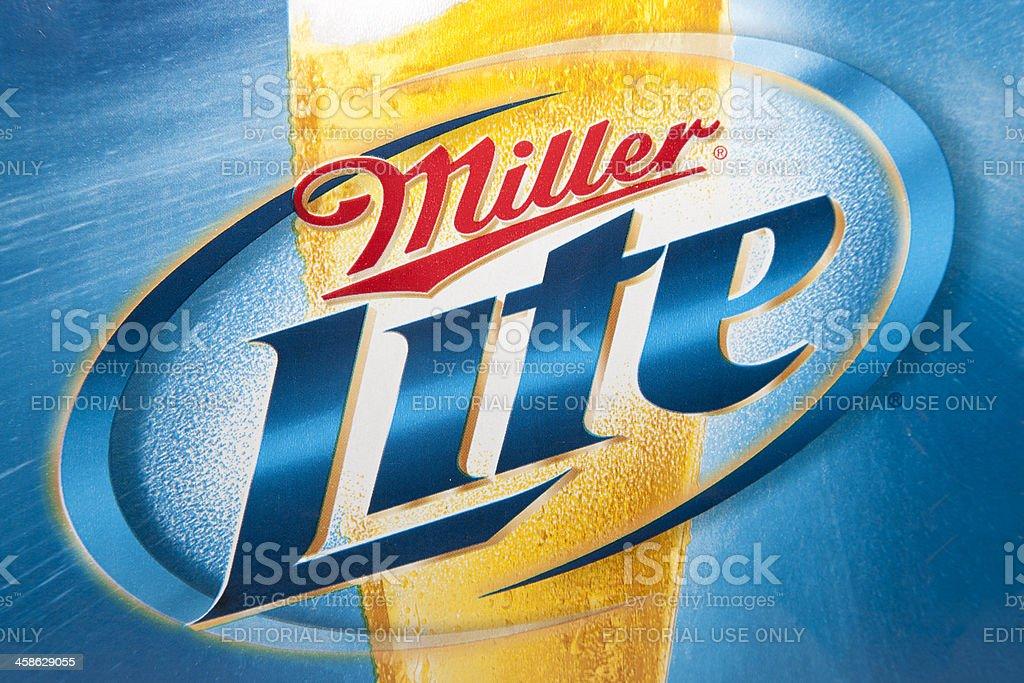 Miller Lite Logo royalty-free stock photo