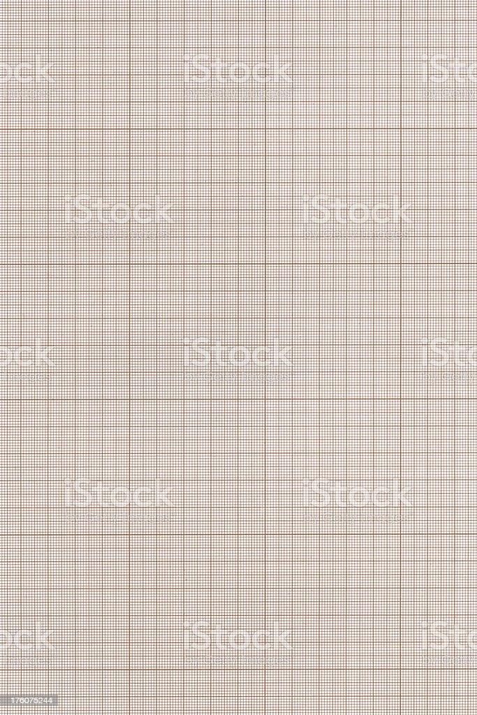 XXXL Millimeter paper royalty-free stock photo