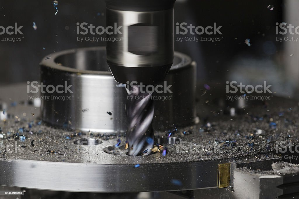 Milling Action stock photo