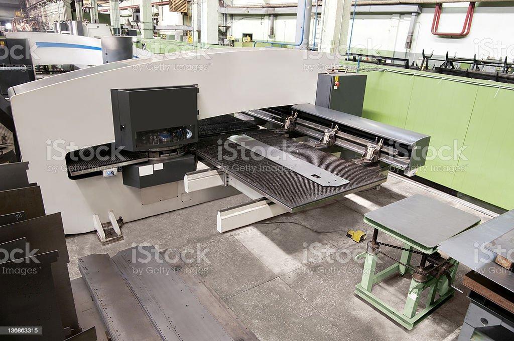 milling machine royalty-free stock photo