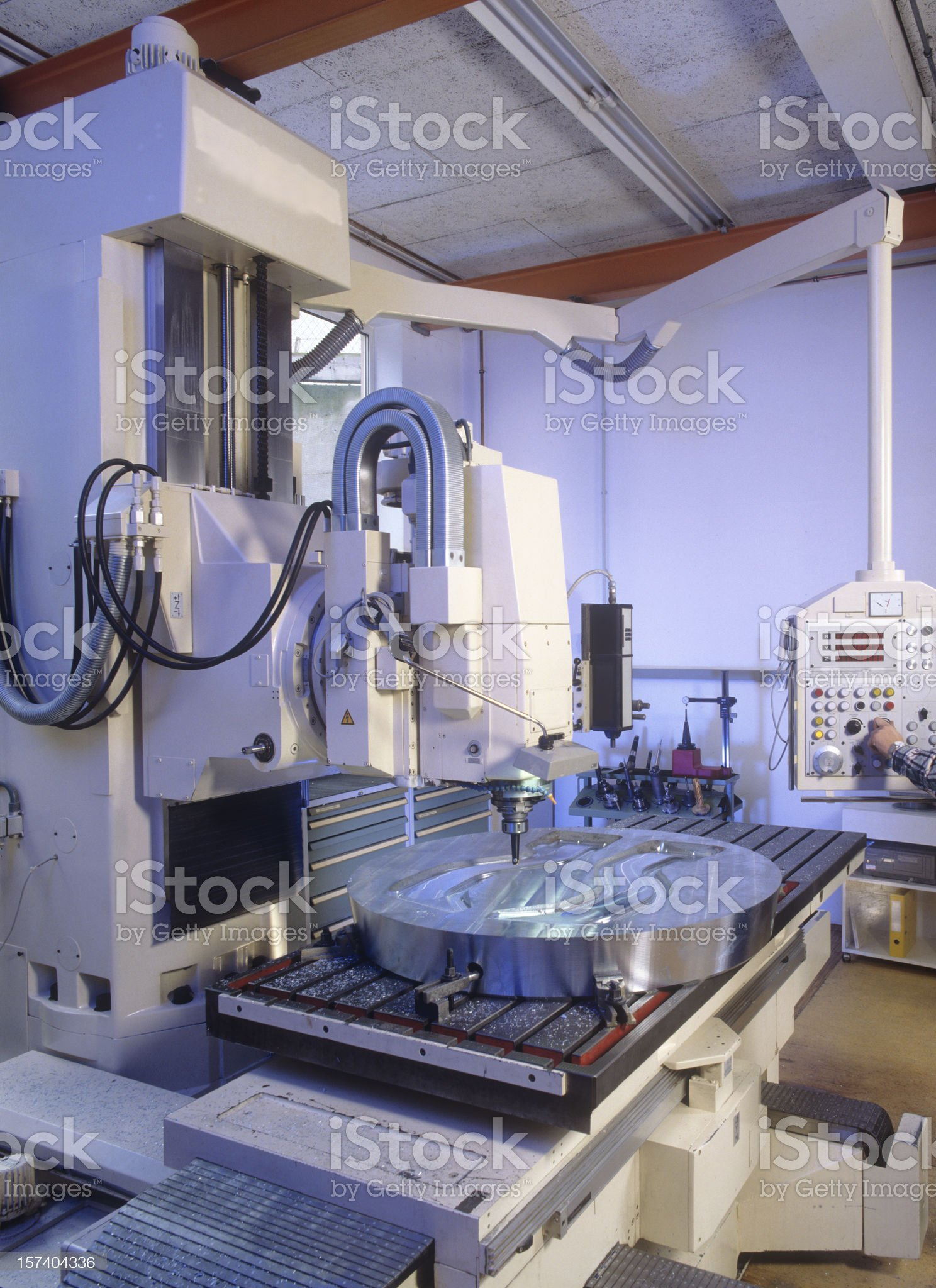 Milling Machine royalty-free stock photo