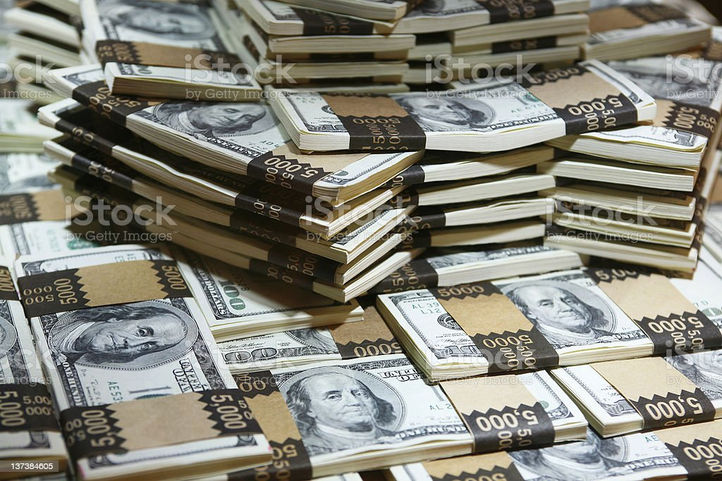 million bucks royalty-free stock photo