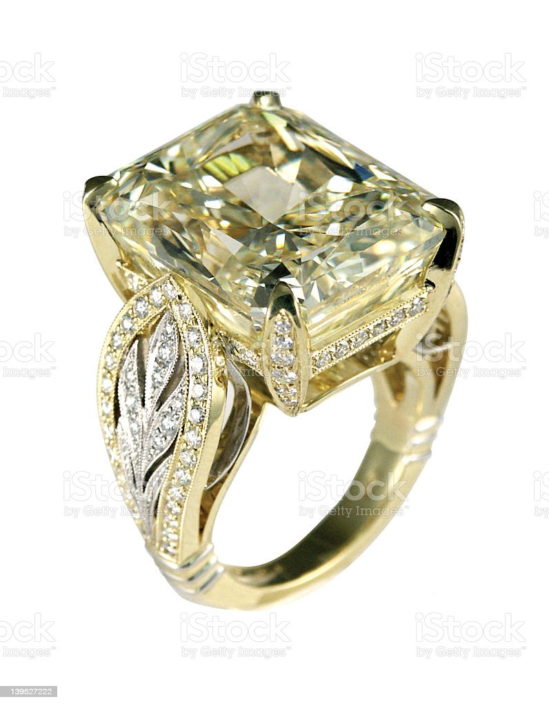 Million Dollar Ring Royaltyfree Stock Photo