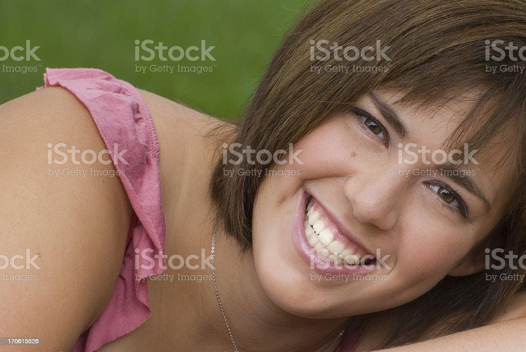 Million Dollar Smile royalty-free stock photo