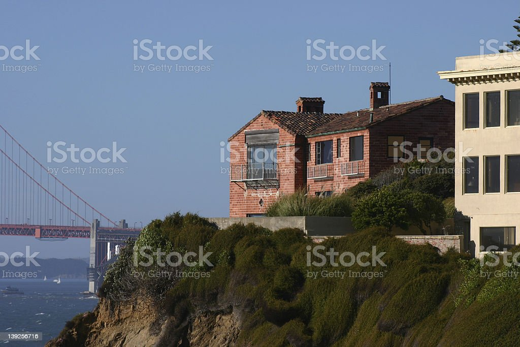 Million dollar view home royalty-free stock photo