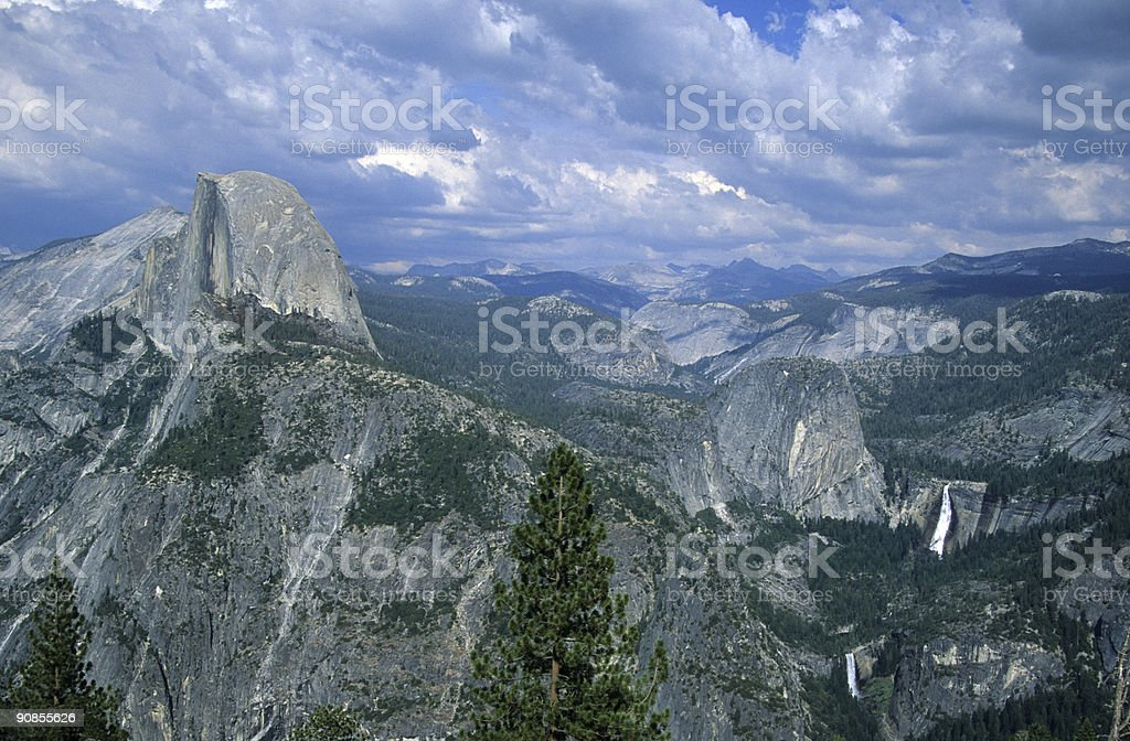 Million dollar view stock photo