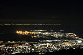 10 million dollars night view of Kobe, Japan