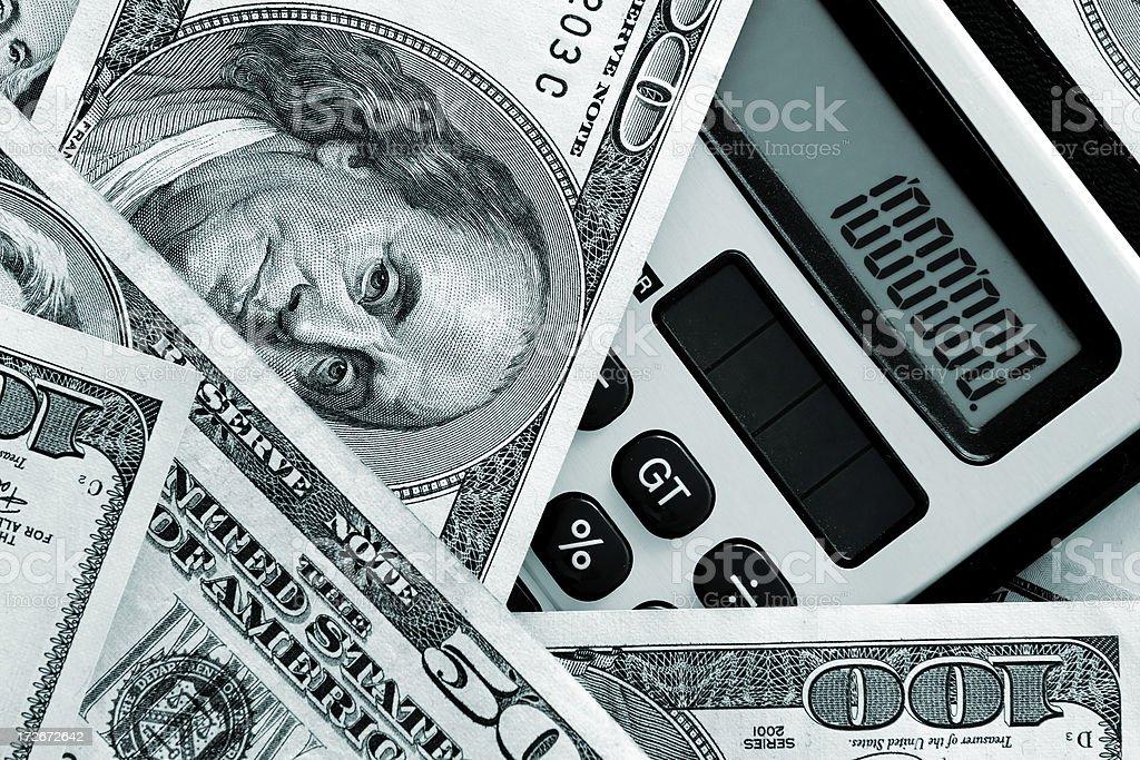 Million dollars royalty-free stock photo