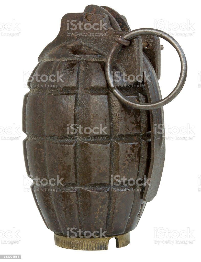 Mills Grenade stock photo