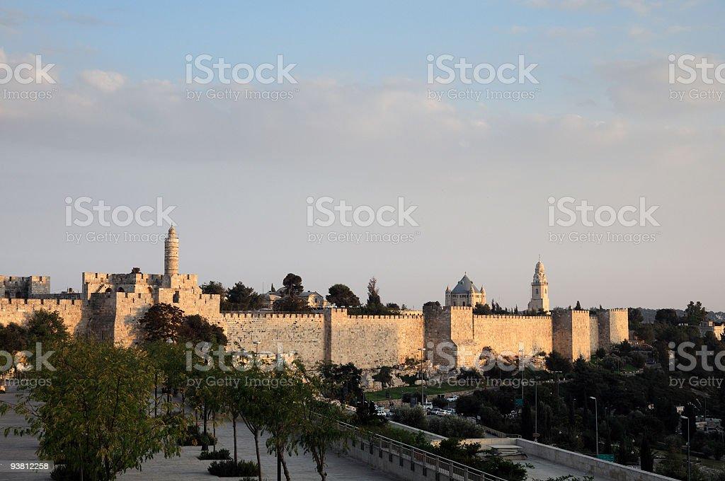 Mills Old Jerusalem royalty-free stock photo