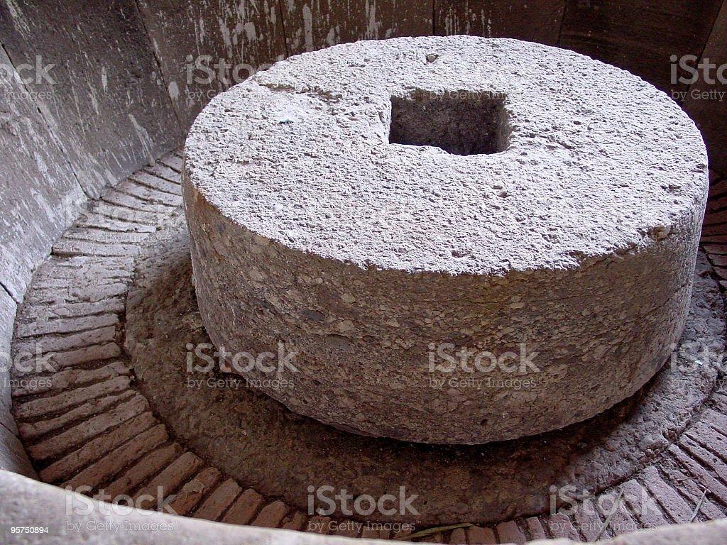millstone royalty-free stock photo