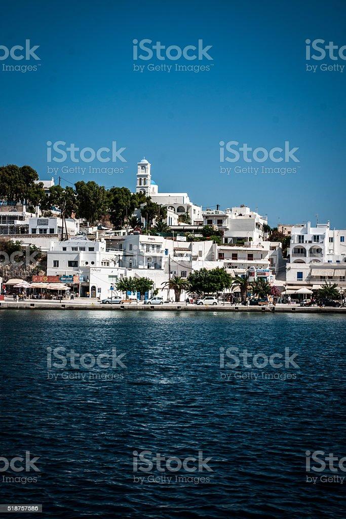 Milos la ville photo libre de droits