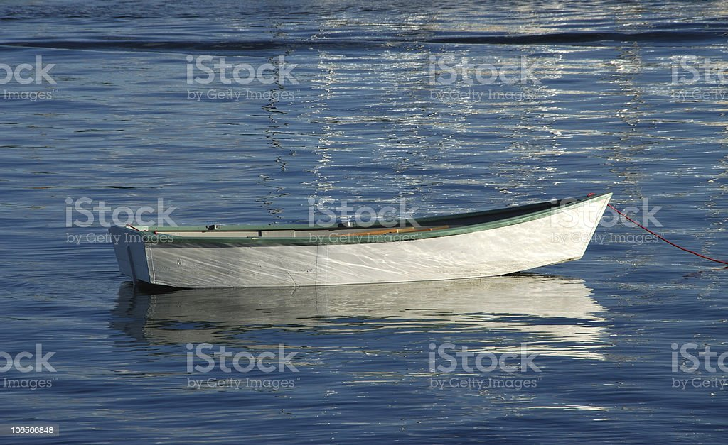 Milo's Dinghy royalty-free stock photo