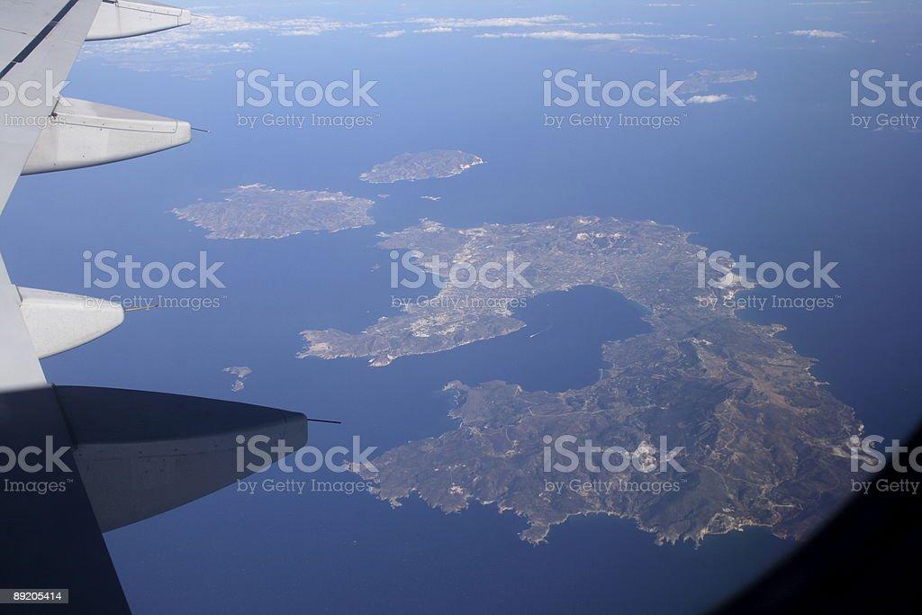 Milos Island royalty-free stock photo