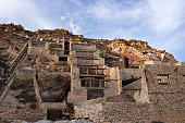 Milos, the old Thiorichia mine, Sulfur-processing plant. Cyclades islands