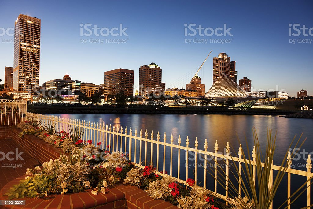 Milwaukee, Wisconsin, USA stock photo