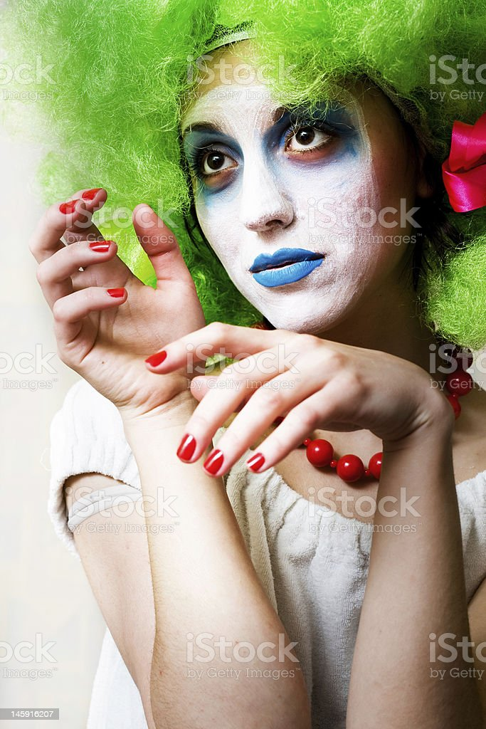 Mime royalty-free stock photo