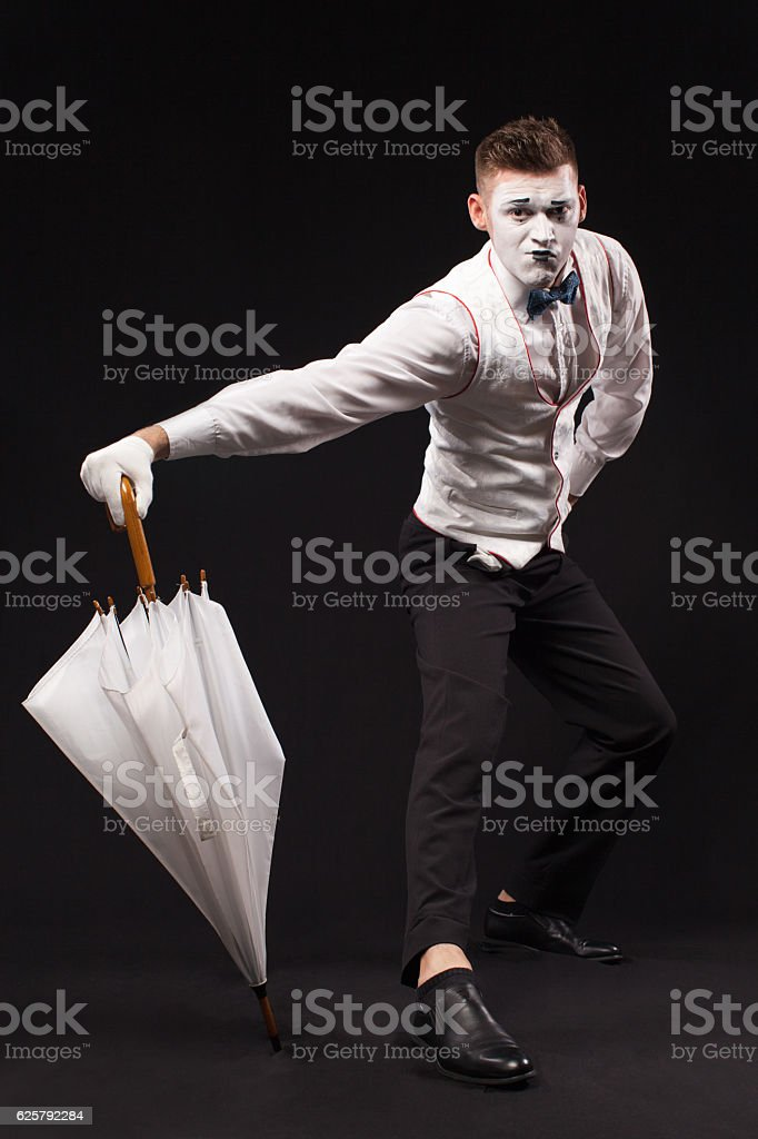 Mime stock photo