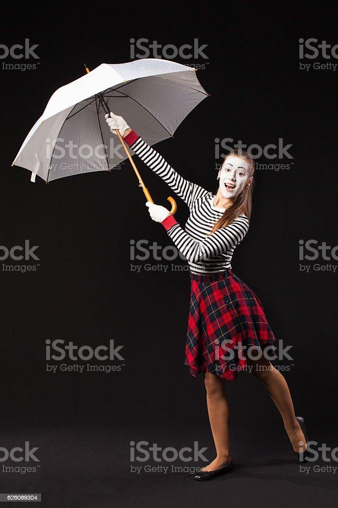 Mime stock photo