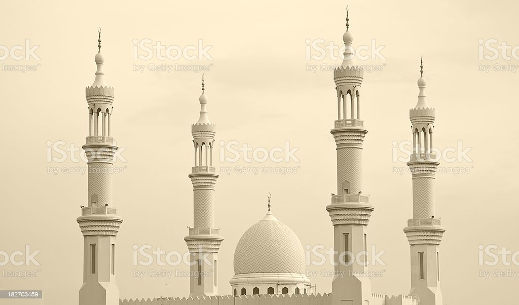 Minaret royalty-free stock photo