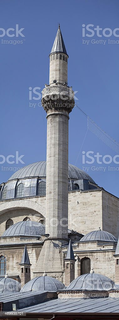 Minaret royalty-free stock photo