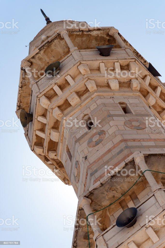 Minaret. stock photo