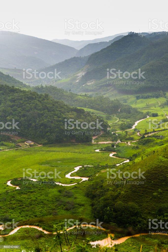 Minas Gerais, Serra do Funil, Rio Preto, Brazil stock photo