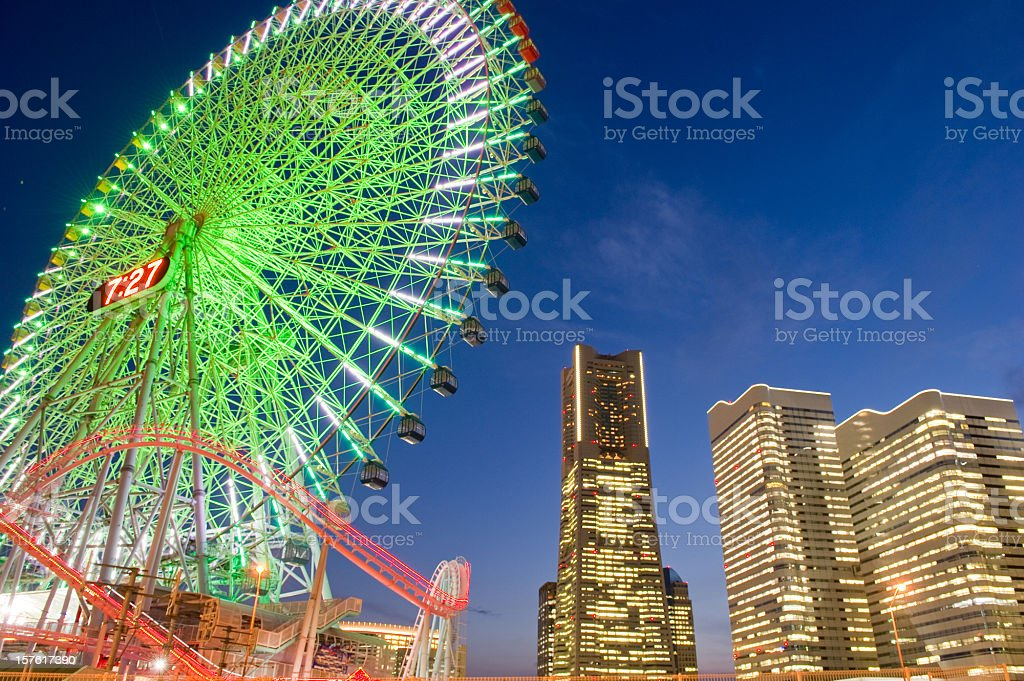 Minato Mirai stock photo