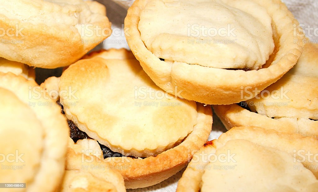 mince pies royalty-free stock photo