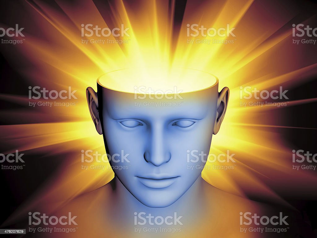 Mind Abstraction royalty-free stock photo