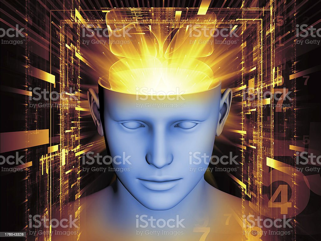 Mind Background royalty-free stock photo