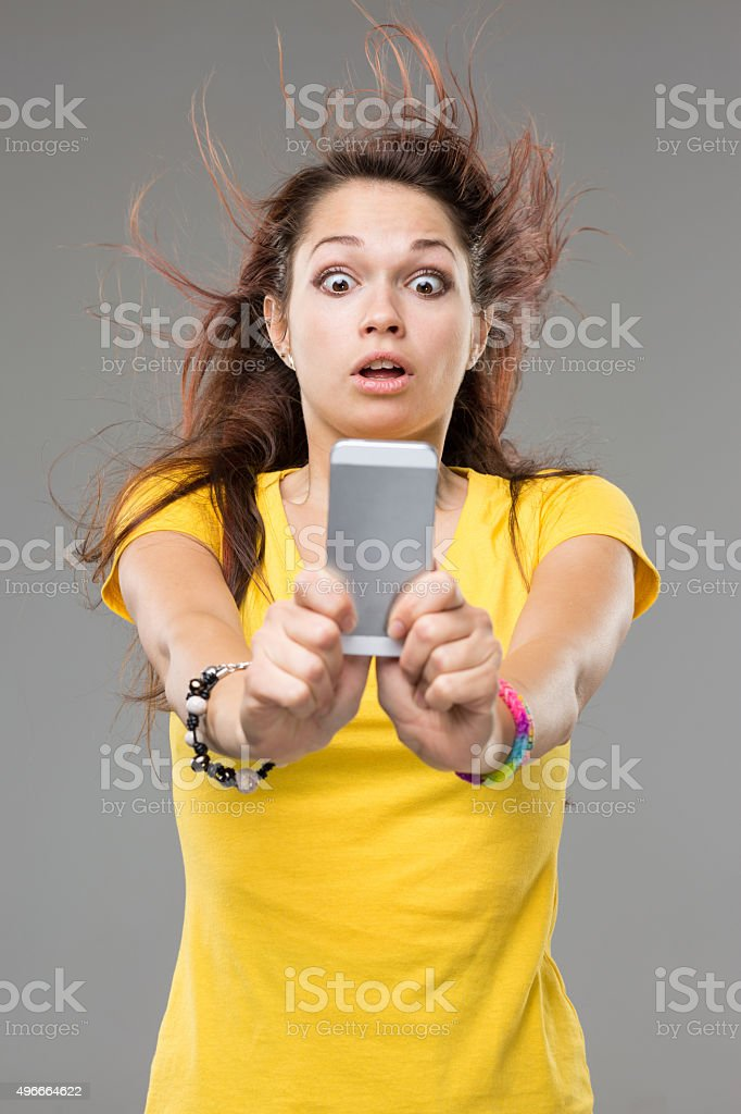 Mind blowing technology stock photo